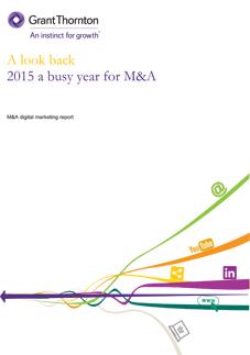 M&A digital marketing report
